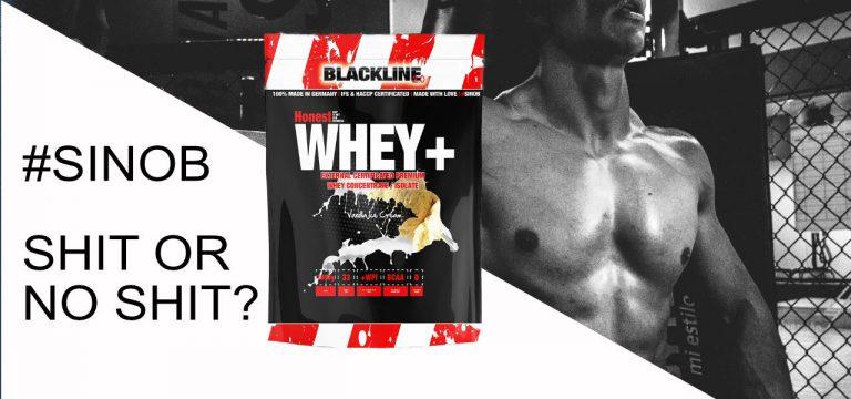 #sinob Blackline 2.0 Honest Whey Protein