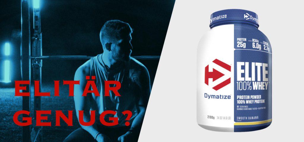 Dymatize 100% Elite Whey Protein Pulver